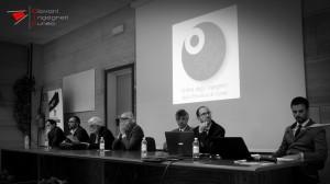"""Tavolo dei relatori, convegno """"Edifici in muratura: una cultura dal passato verso il futuro"""" Fossano 04-05-2017"""