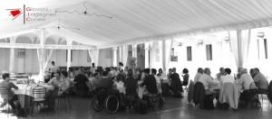 """Convegno """"Monitoraggio periodo e continuo di strutture del patrimonio architettonico"""" Vicoforte 15-06-2017 - Momento conviviale"""